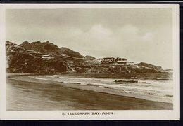 """CPA Glacé """"E. Télégraph Bay Aden"""" Ed. Pallonjee Dinchaw & Co Aden - B/TB - - Yémen"""