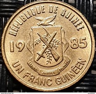 Guinea 1 Franc 1985 - UNC - Guinée
