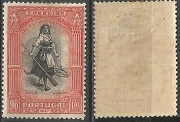 PORTUGAL Independencia Portugal -96C-1927- Afinsa 432- MH- Oxid - Nuevos