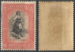 PORTUGAL Independencia Portugal -96C-1927- Afinsa 432- MH- Excellent - Nuevos
