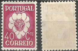 PORTUGAL 5º Congresso Internacional -40C- 1937- Afinsa 581- MH- Excellent - Nuevos