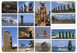 Lote PEP1309, Chile, Postal, Postcard, Isla De Pascua, Rapa Nui, Indigenous Themes - Chile