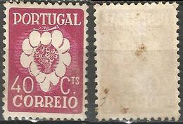 PORTUGAL 5º Congresso Internacional -40C- 1937- Afinsa 581- MH- Oxid - Nuevos