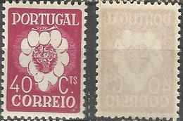PORTUGAL 5º Congresso Internacional -40C- 1937- Afinsa 581- MNHOG- Excellent - Nuevos