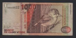 Banconota Capo Verde - 1000 Escudos - 1992 - Cape Verde