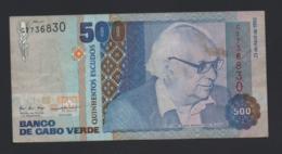 Banconota Capo Verde - 500 Escudos - 1992 Circolata - Capo Verde