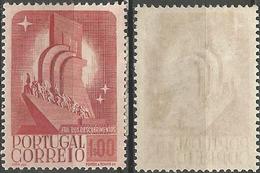 PORTUGAL 8º Centenario -1E- 1940- Afinsa 597- MH- Excellent - Nuevos
