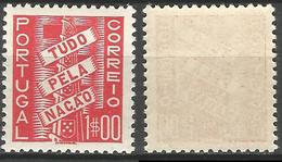 PORTUGAL Tudo Pela Naçao -1$00- 1935- Afinsa 572- MNHOG- Excellent - Nuevos