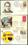 {F070} France 1957 3 FDC See Scan !! - FDC