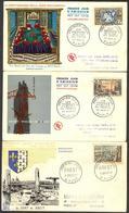 {F071} France 1957 II 3 FDC See Scan !! - FDC