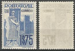 PORTUGAL 8º Centenario -1.75E- 1940- Afinsa 598- MNHOG- Excellent - Nuevos