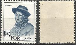 PORTUGAL Costumes 2ª Emissao -1.75E- 1947- Afinsa 682- MNHOG- Excellent - Nuevos