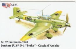 PREPAID PHONE CARDS-ATW-AEREI II GUERRA MONDIALE- 37 - Italie