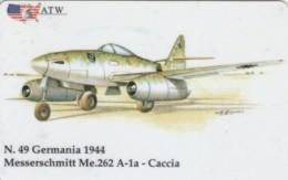 PREPAID PHONE CARDS-ATW-AEREI II GUERRA MONDIALE- 49 - Italie