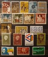 HOLANDA 1960- 1969. LOTE DE SELLOS USADOS - USED. - Periodo 1949 – 1980 (Juliana)