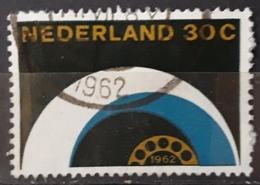 HOLANDA 1962 The Completion Of The Telephone Automation. USADO - USED. - Periodo 1949 – 1980 (Juliana)