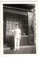 PHOTO ANCIENNE BOIS LE ROI 1949 - Personnes Anonymes