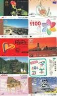 LOTTO 20 BIGLIETTI GIAPPONESI METRO-BUS-ALTRO VARIE TEMATICHE ( (XG84 - Metropolitana