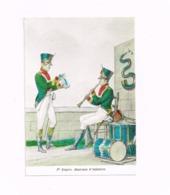 1er Empire.Musiciens D'infanterie. - Uniformes