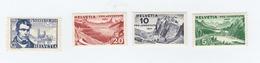 SUISSE N°  250/253 Neufs *   Cote 8,00 Euros - Switzerland