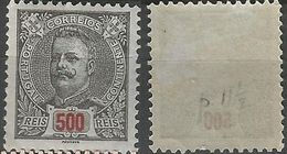 PORTUGAL D. Carlos -500r-1895- Porcelana- Afinsa 139- MH- Excellent - 1910-... Republic