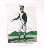 1er Empire.Infanterie De Ligne.Adjudant Sous-officier. - Uniformes