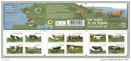 Carnet N° BC N° 953, Les Vaches - Booklets