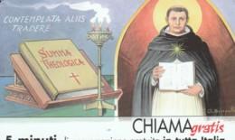 CHIAMAGRATIS SERIE PERSONAGGI- 45 SAN TOMMASO - Schede GSM, Prepagate & Ricariche