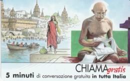 CHIAMAGRATIS SERIE PERSONAGGI- 106 GANDHI - Italia