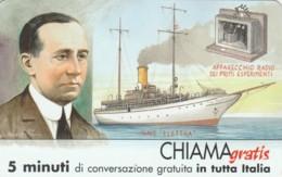 CHIAMAGRATIS SERIE PERSONAGGI- 107 MARCONI - Italia