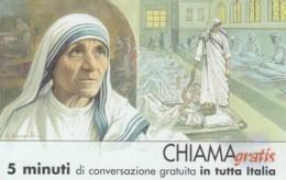 CHIAMAGRATIS SERIE PERSONAGGI- 115 MADRE TERESA DI CALCUTTA - Italie