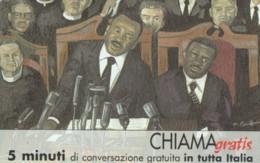 CHIAMAGRATIS SERIE PERSONAGGI- 118 MARTIN LUTHER KING - Italie