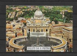 POSTAL EUROPA ///  VATICANO - PLAZA DE SAN PEDRO - Vaticano (Ciudad Del)