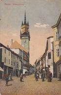 ZNAIM. RATHAUSTURM. VERLAG BUEHHANDLUNG LOOS. CIRCULEE CIRCA 1900s TIMBRE ARRACHE - BLEUP - Tschechische Republik