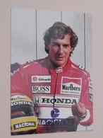 AYRTON SENNA > A. Senna ( Ediposters / Print Italy ) Anno 19?? ( See / Zie / Voir Photo ) ! - Célébrités