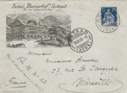 LETTERA 1913 SVIZZERA TIMBRO GSTAAD BERN (LV51 - Svizzera