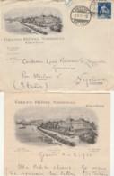 LETTERA 1910 SVIZZERA 25 TIMBRO GENEVE-GRAND HOTEL (LV75 - Svizzera