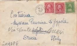 LETTERA 1932 CON 2+2+1 CENT STATI UNITI TIMBRO NASHVILLE -TENN (LV82 - Stati Uniti