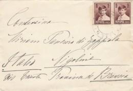 LETTERA ROMANIA ANNI 30 2X5 LEI (LV85 - 1918-1948 Ferdinand, Carol II. & Mihai I.