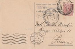 CARTOLINA POSTALE 1917 CENT.10 ASSOCIAZIONE ANTICHI STUDENTI VENEZIA (LV166 - Storia Postale