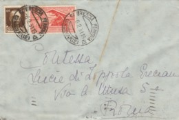 LETTERA 1931 CENT.30 +20 CENT. NASCITA VIRGILIO TIMBRO BRESCIA (LV260 - 1900-44 Victor Emmanuel III.