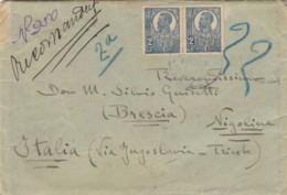 LETTERA 1922 2+2 LEI ROMANIA (LV398 - 1918-1948 Ferdinand, Carol II. & Mihai I.