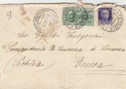 ESPRESSO 1933 L1,25+50 C. TIMBRO PERUGIA-AMBULANTE  -NATANTE (LV418 - 1900-44 Vittorio Emanuele III