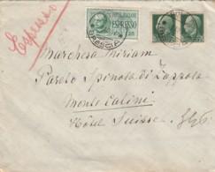 ESPRESSO 1937 L,1 25+2X25 TIMRI AMBULANTI BRENNERO-BOLOGNA (LV421 - 1900-44 Vittorio Emanuele III