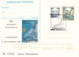 INTERO POSTALE 1995 VIAREGGIO ANNULLO SPECIALE TIR 1500 (LV765 - 6. 1946-.. Repubblica