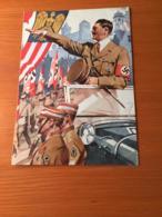 Deutsches Reich Original Telegram Gelaufen 1939 (29.5x20.5 Cm) - Deutschland