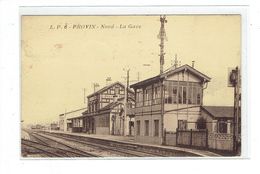 CPA DPT 59 - L.P.6  PROVIN - LA GARE - France