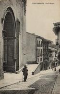 CPA ESPAGNE FUENTERRABIA Calle Mayor - Spanje