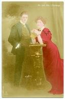 SILENT FILM ACTOR : JULIAN L'ESTRANGE / CONSTANCE COLLIER (MR AND MRS L'ESTRANGE) - PHOTO BY BASSANO - Actors