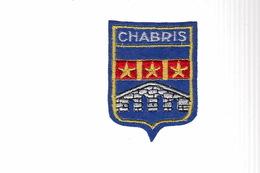 ECUSSON TISSU BRODE - CHABRIS - Patches